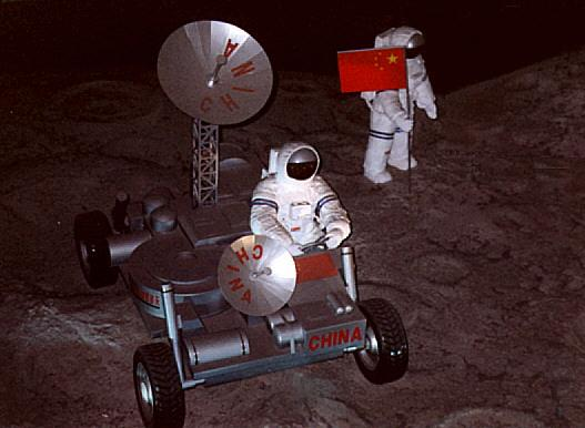 Chinese on Moon