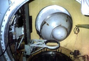 Almaz forward hatch