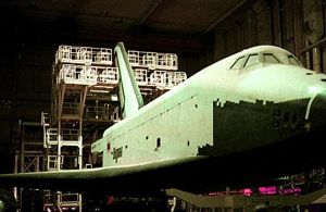 Buran in storage