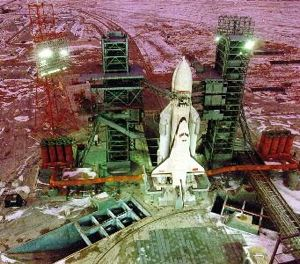 Buran on Pad