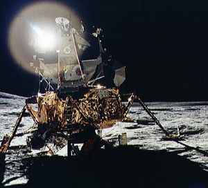 LM on Moon