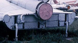 Mig-105 back view