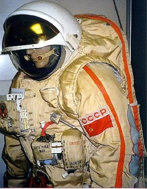 Orlan space suit