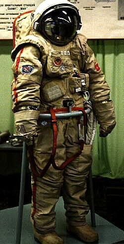 Orlan DM Spacesuit