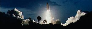 Shuttle Night Launch